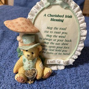 Cherished Teddies Irish Blessing 110981 @1994